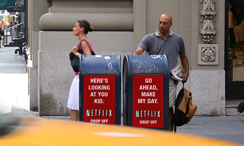 netflix logo. Netflix Drop Off